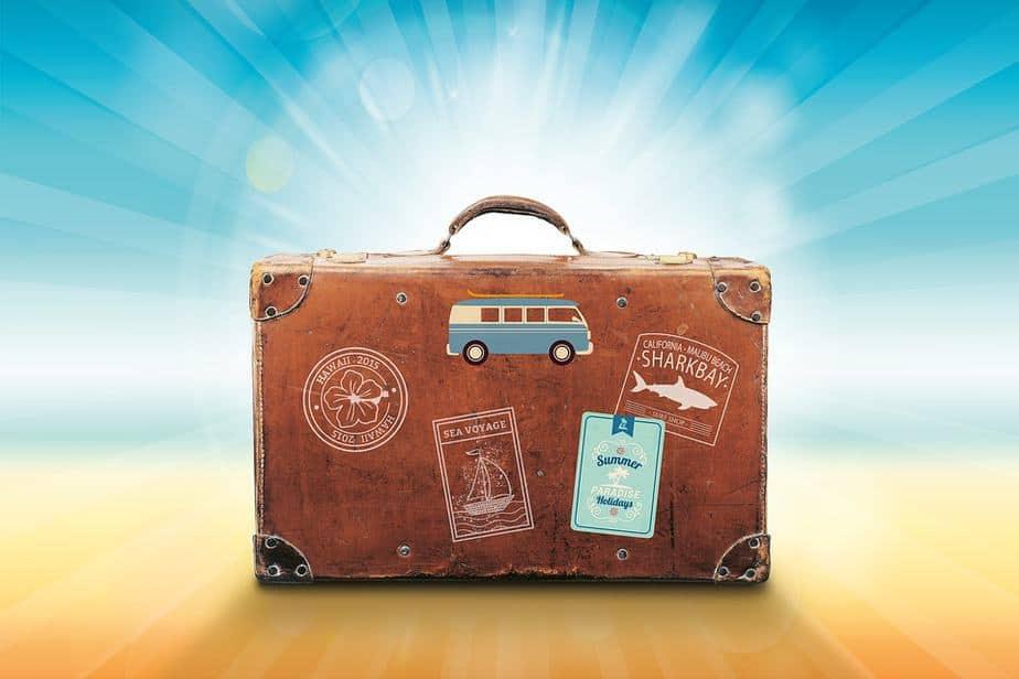 Koffer Urlaub